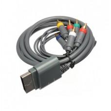 Microsoft Xbox 360 HDTV component audio video kabelis