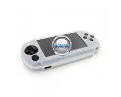 Silikoninis dėklas Sony PSP 3000 konsolėms baltas