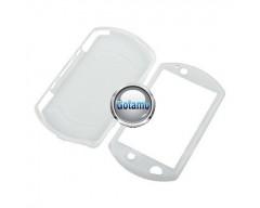 Silikoninis dėklas Sony PSP GO konsolėms baltas